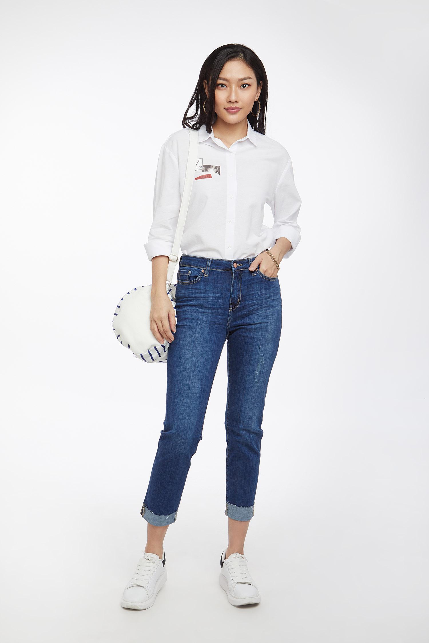 quần jean nữ - 1907003