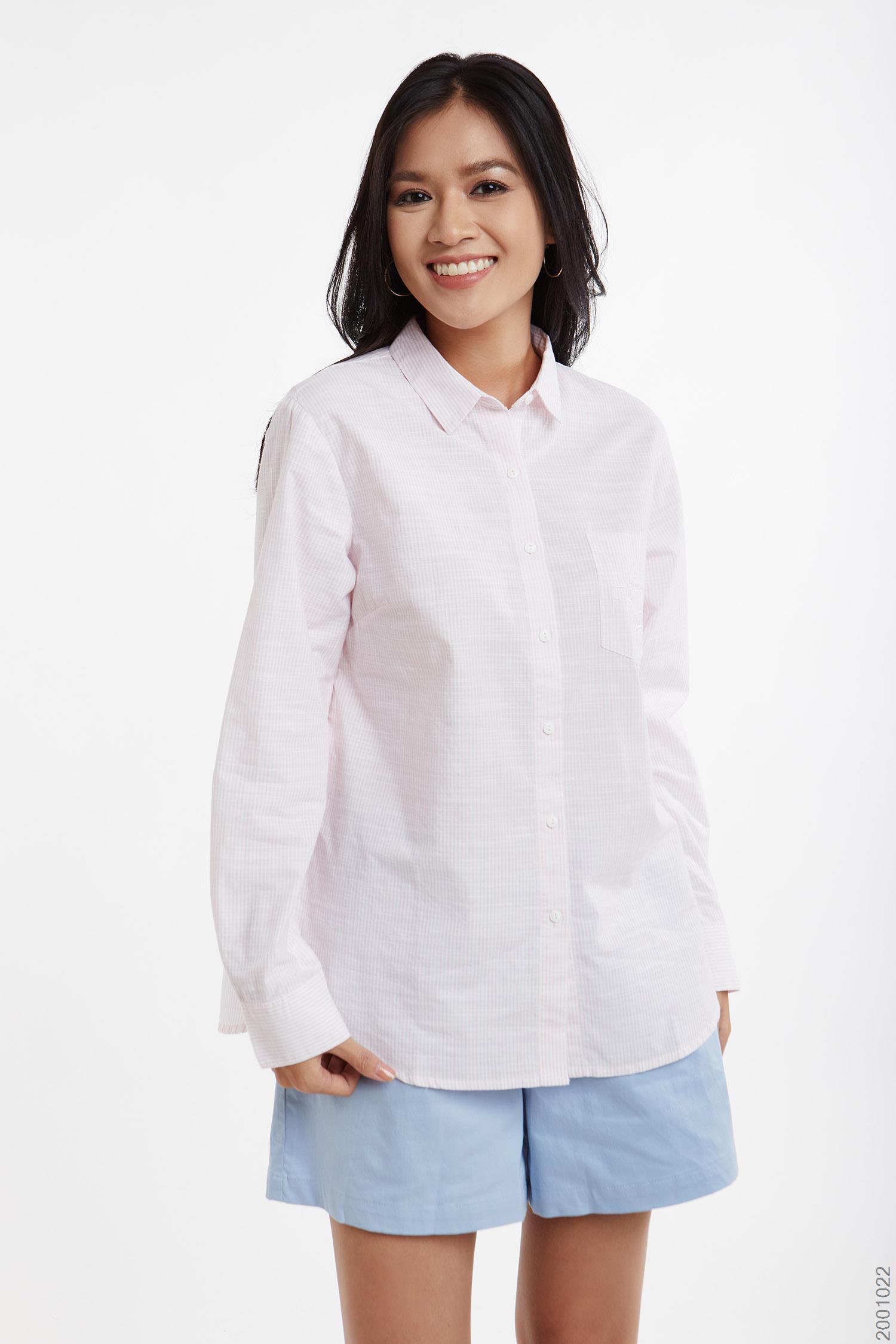 áo sơmi nữ tay dài - 2001022