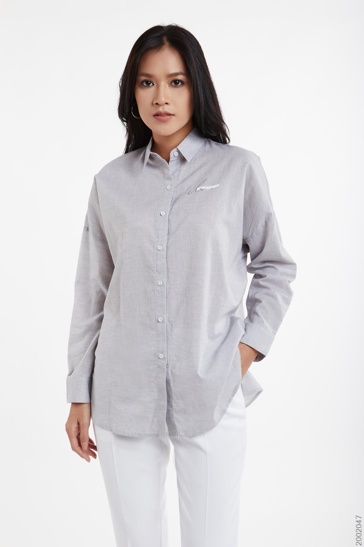 áo sơmi nữ tay dài - 2002047