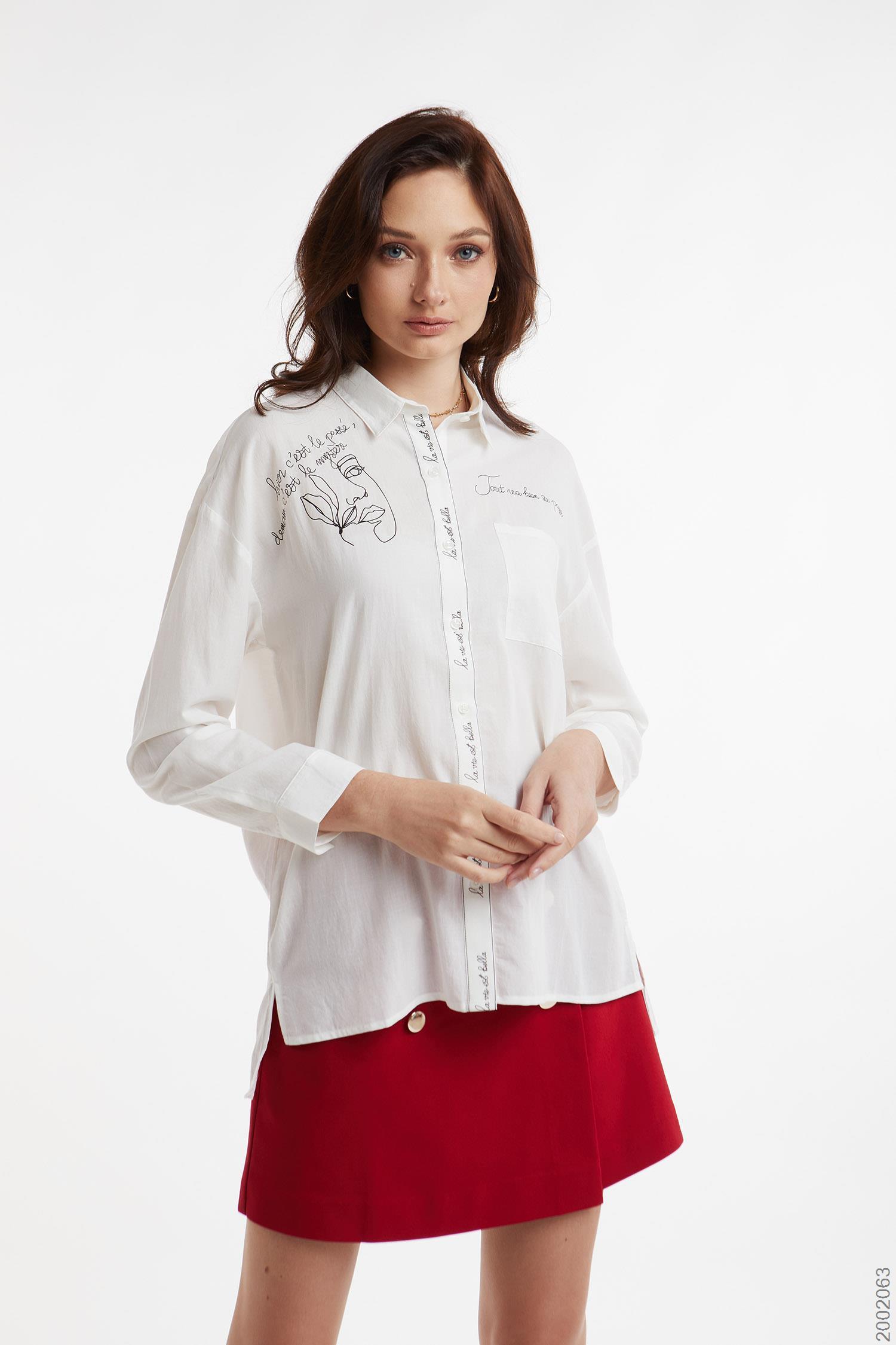 áo sơmi nữ tay dài - 2002063