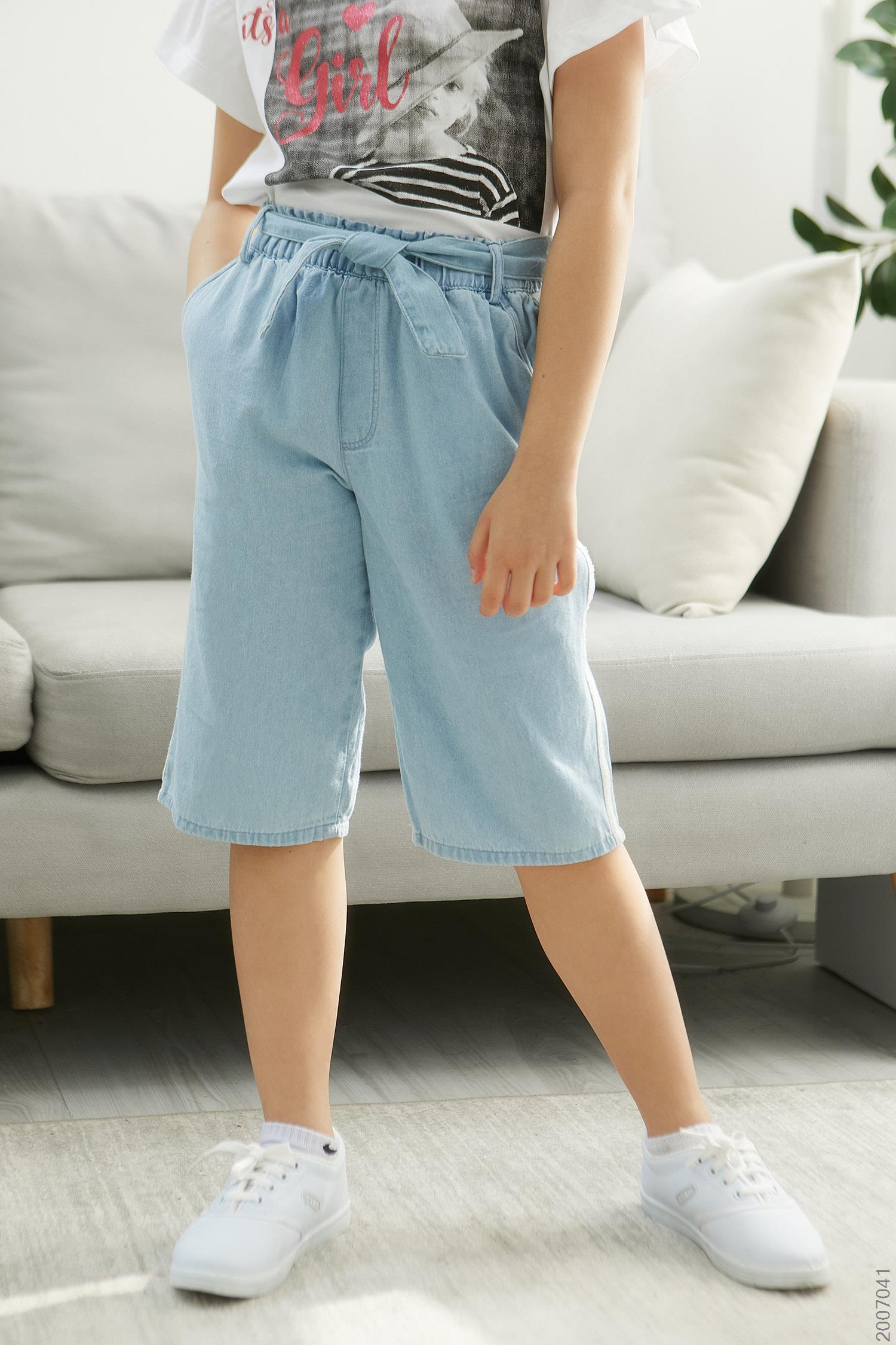 quần jean bé gái - 2007041